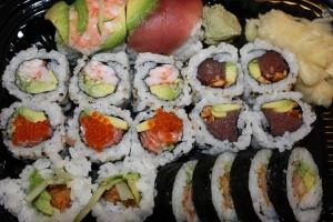 Sushi er lækkert både købt og hjemmelavet