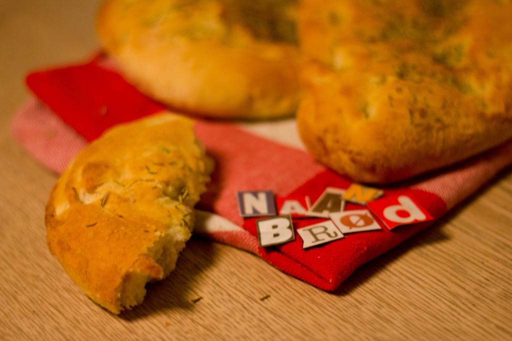 Naan brød er indisk og smager dejligt krydret