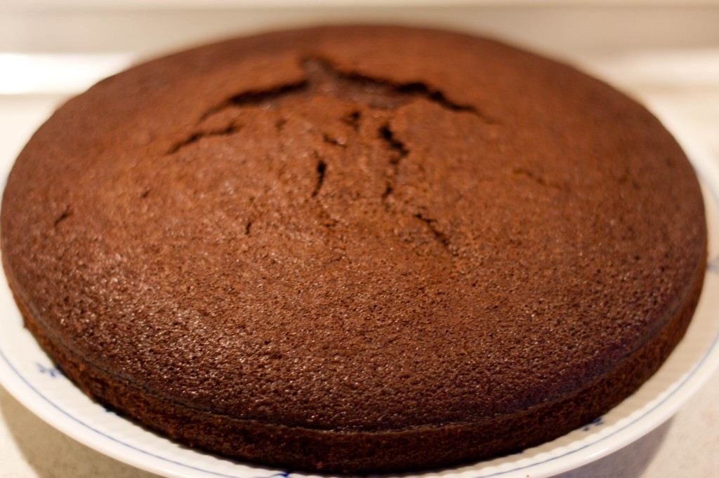 Kage på flaske er en god værtindegave, som er en chokoladekage eller anden kage eller knækbrød